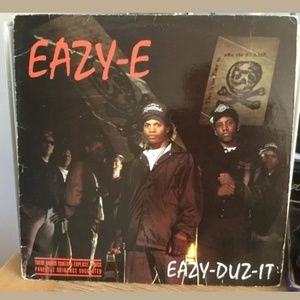 Rare ORIGINAL Easy E 1988 Eazy Duz It Vinyl Record